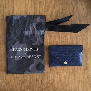 DAGNE DOVER x ZOE REPORT leather card holder
